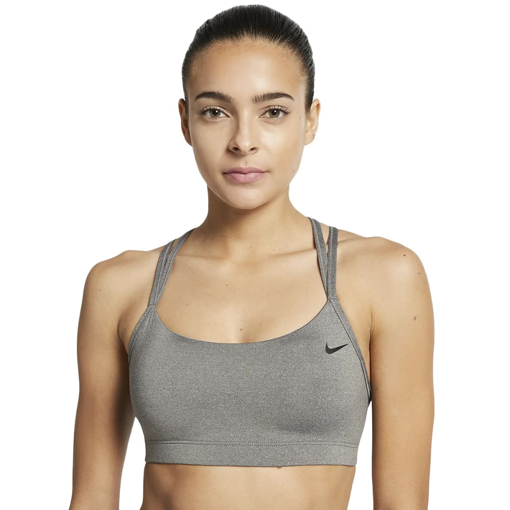 Nike Women's Strappy Sports Bra - Black, S