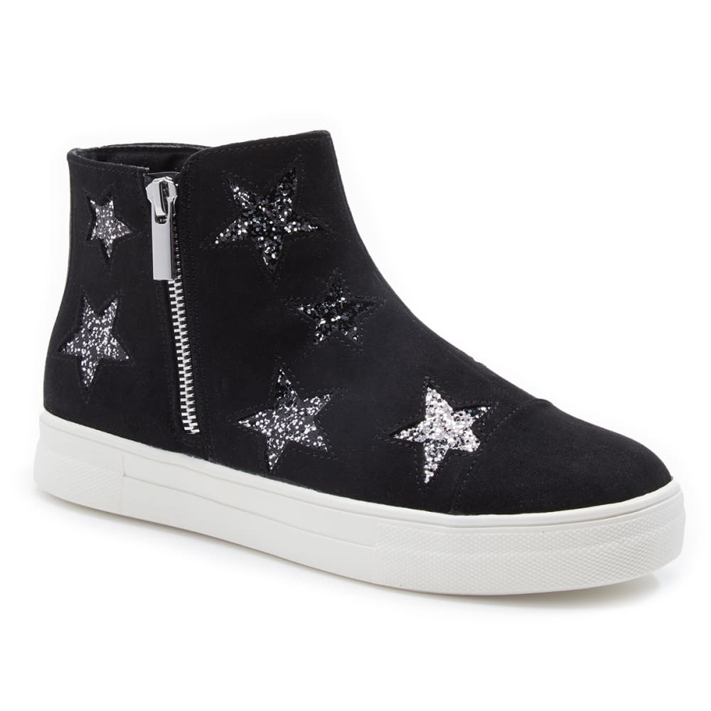 TOUCH OF NINA Girls' Gina Side-Zip Shoes with Stars 2