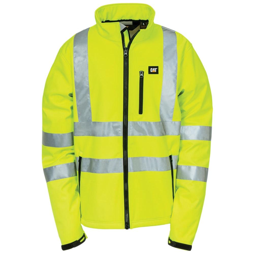 CATERPILLAR Men's Hi Vis Soft Shell Jacket M