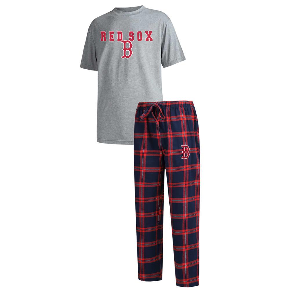 BOSTON RED SOX Men's Troupe Shirt and Pants Sleep Set M