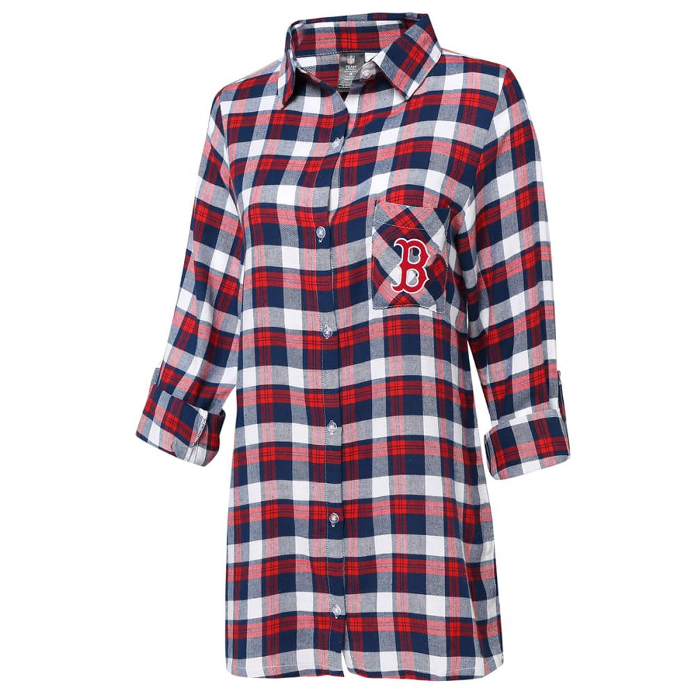 BOSTON RED SOX Women's Piedmont Nightshirt S