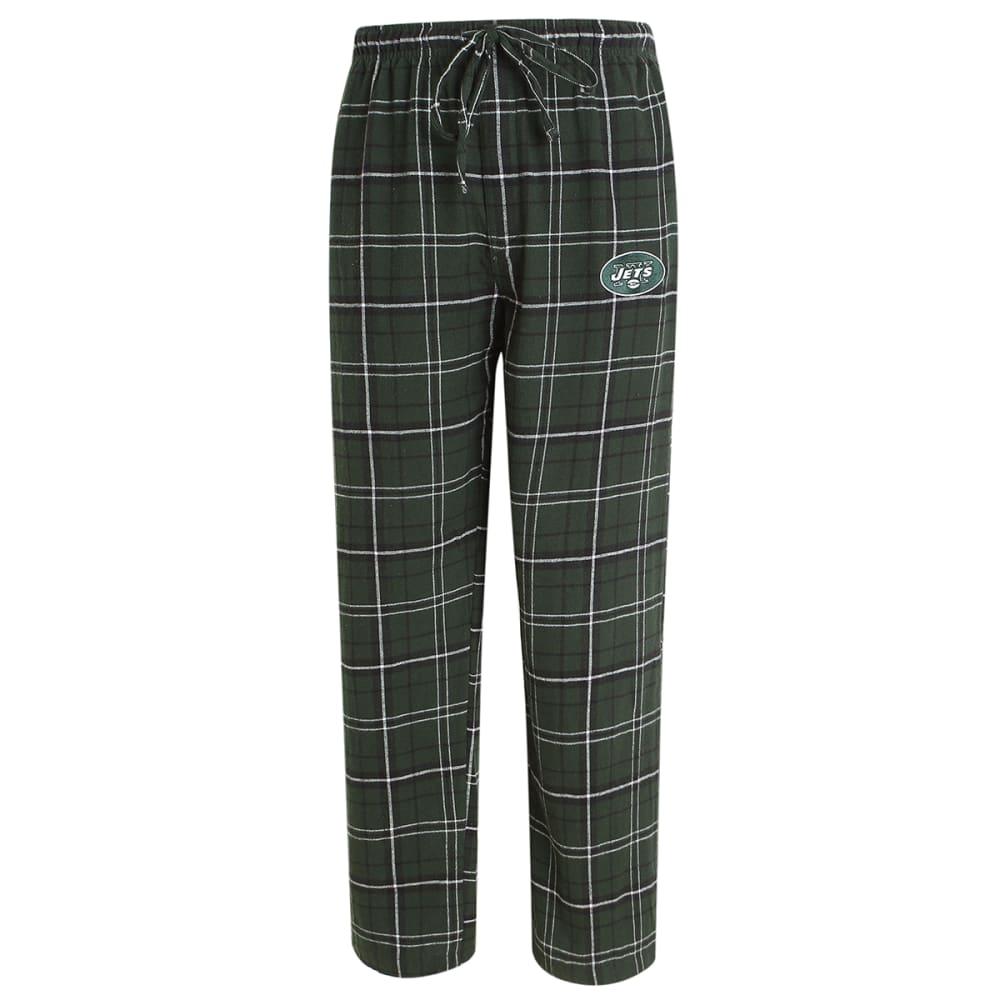 NEW YORK JETS Men's Ultimate Plaid Flannel Pajama Pants XXL