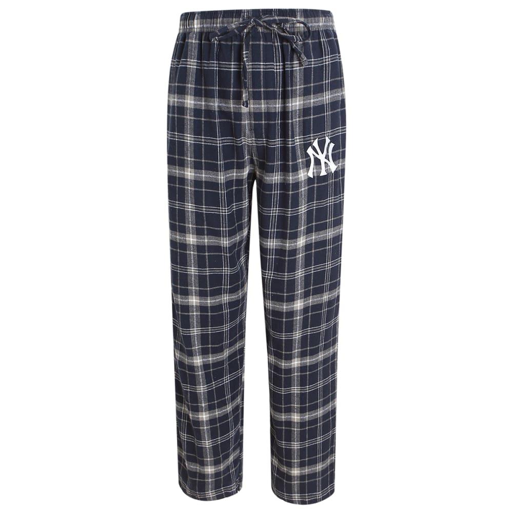 NEW YORK YANKEES Men's Ultimate Plaid Flannel Pajama Pants M
