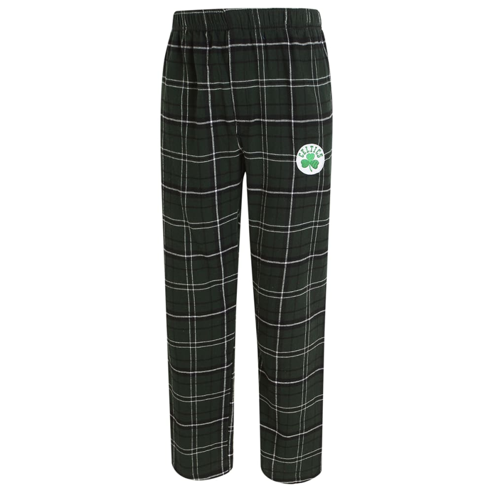 BOSTON CELTICS Men's Ultimate Plaid Flannel Pajama Pants XXL