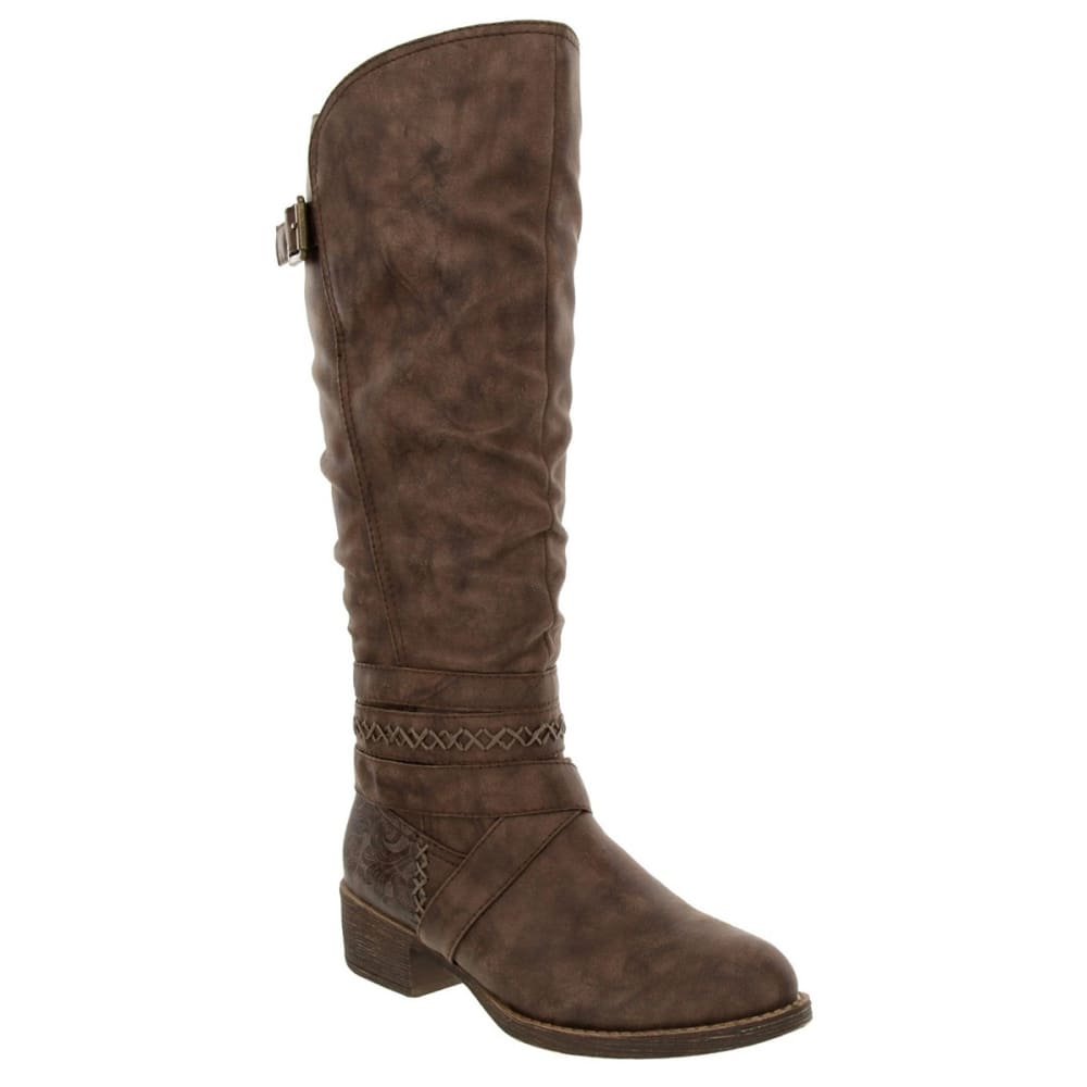 SUGAR Women's Darling 2 Belted Riding Boots 7