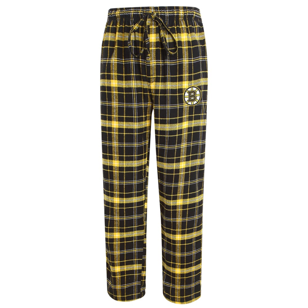 BOSTON BRUINS Men's Ultimate Plaid Flannel Pajama Pants XL