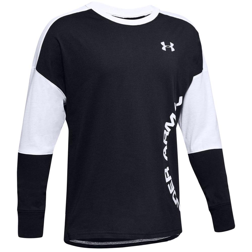 UNDER ARMOUR Boys' Long-Sleeve UA Sportstyle Color Blocked Shirt S