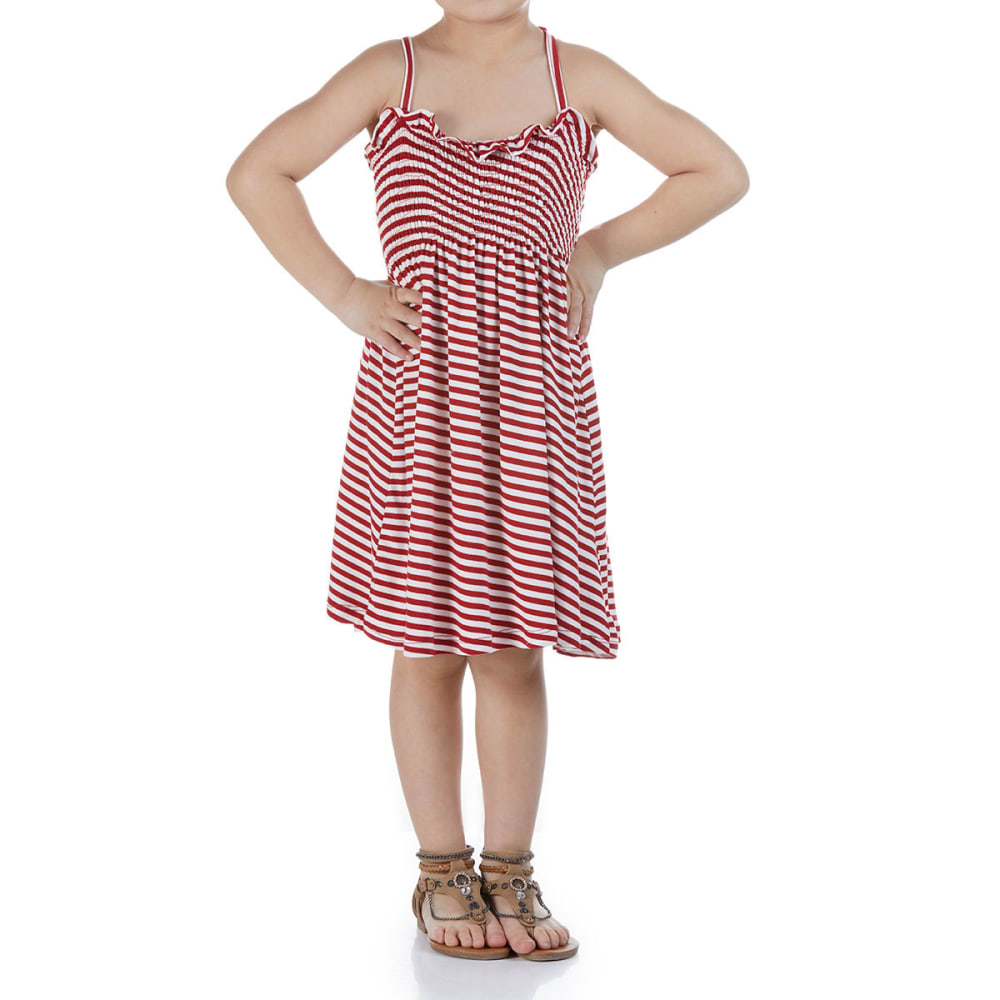 POOF Girls' Smock Dress S