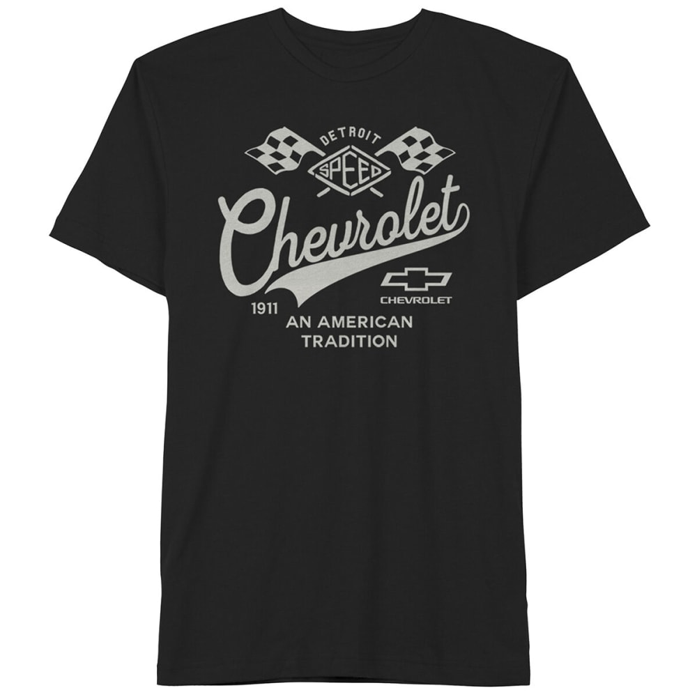 Chevy Guys' Short-Sleeve Graphic Tee - Black, S
