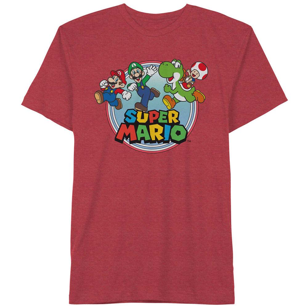 NINTENDO Super Mario Men's Short-Sleeve Graphic Tee M