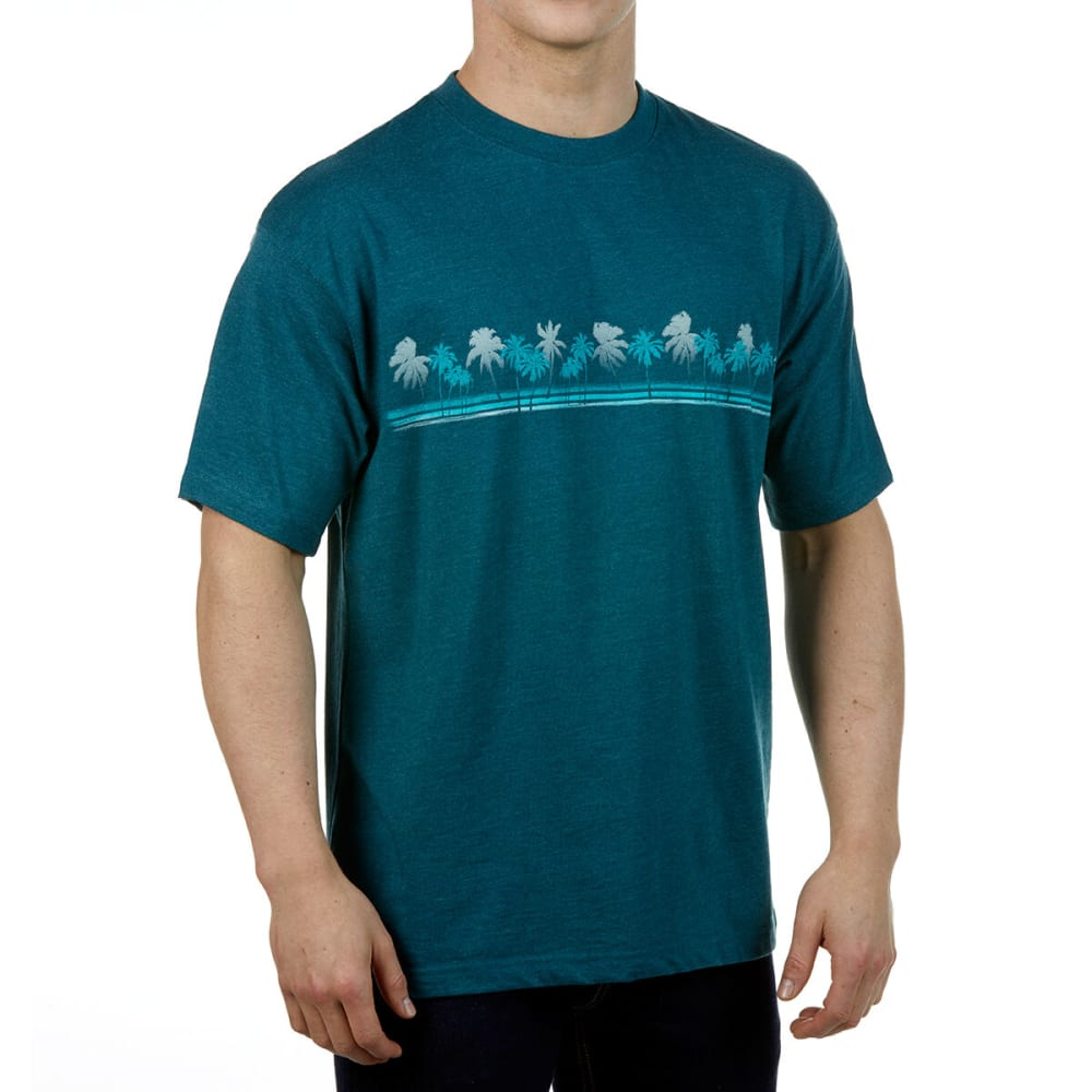 NEWPORT BLUE Men's Coco Palms Graphic Tee M