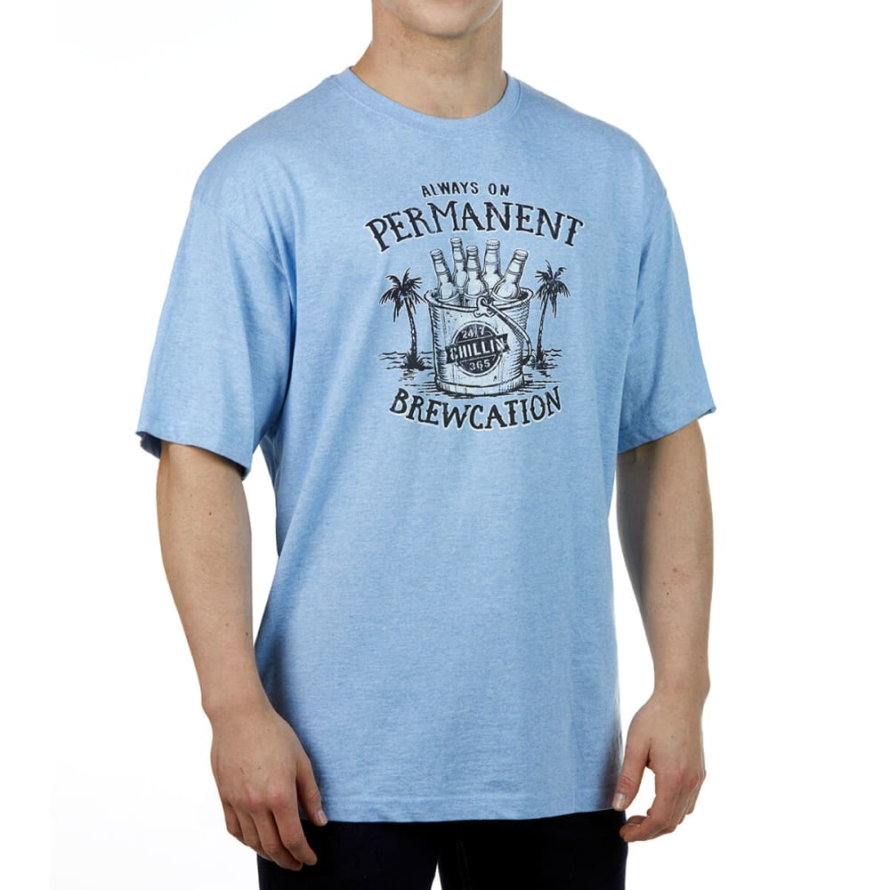 NEWPORT BLUE Men's Brewcation Tee M
