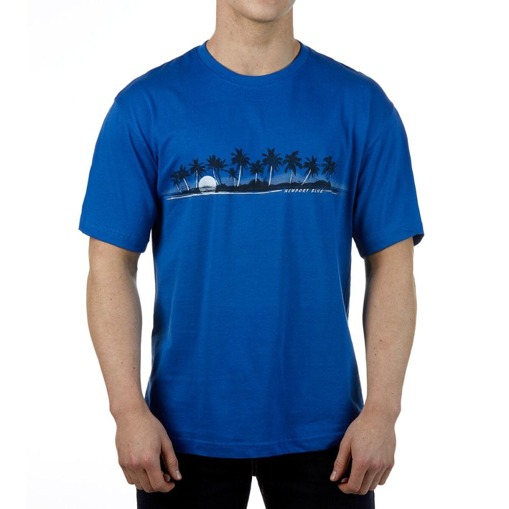 Newport Blue Men's Short-Sleeve Graphic Tee