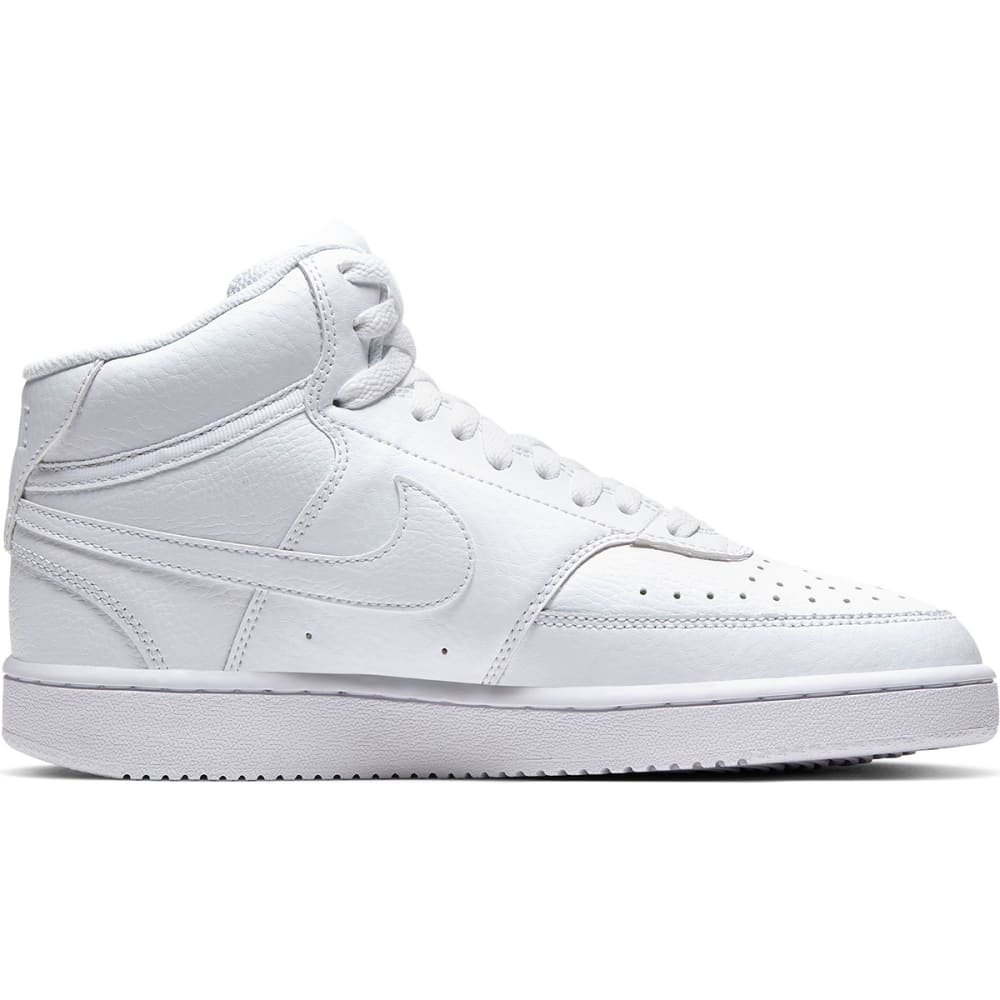 NIKE Women's Court Vision Mid Sneakers 8