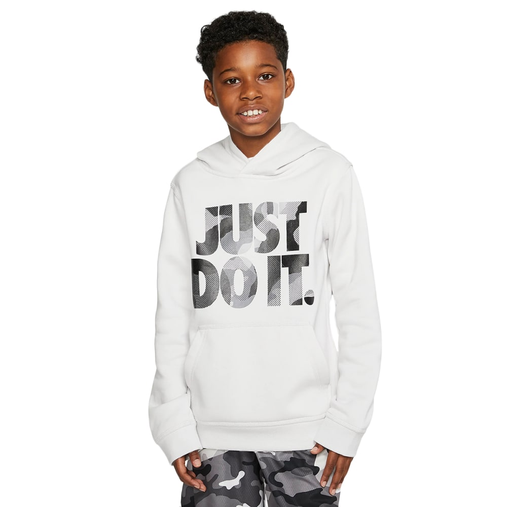 NIKE Boys' Sportswear Camo Hoodie M