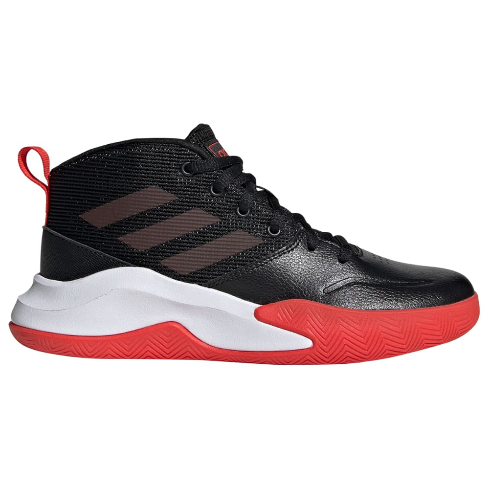ADIDAS Boys' Own The Game Basketball Shoes, Wide 1
