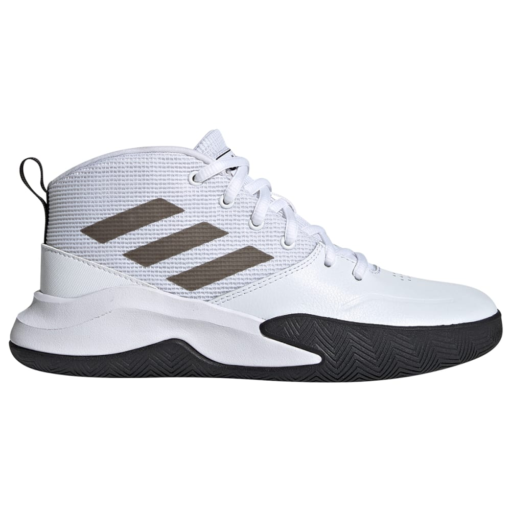 ADIDAS Boys' Own The Game Basketball Shoes, Wide 3.5