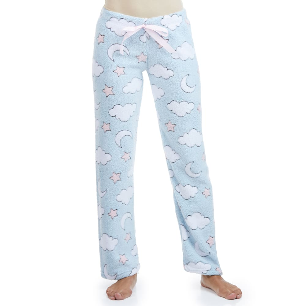 SLEEP & CO Women's Jacquard Plush Sleep Pants S