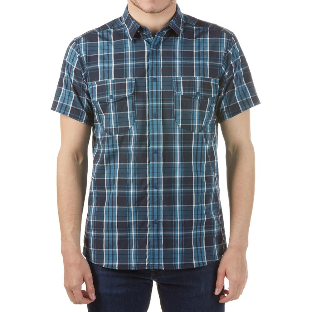 Karrimor Men's Yacuma Original Check Short-Sleeve Shirt - Blue, M