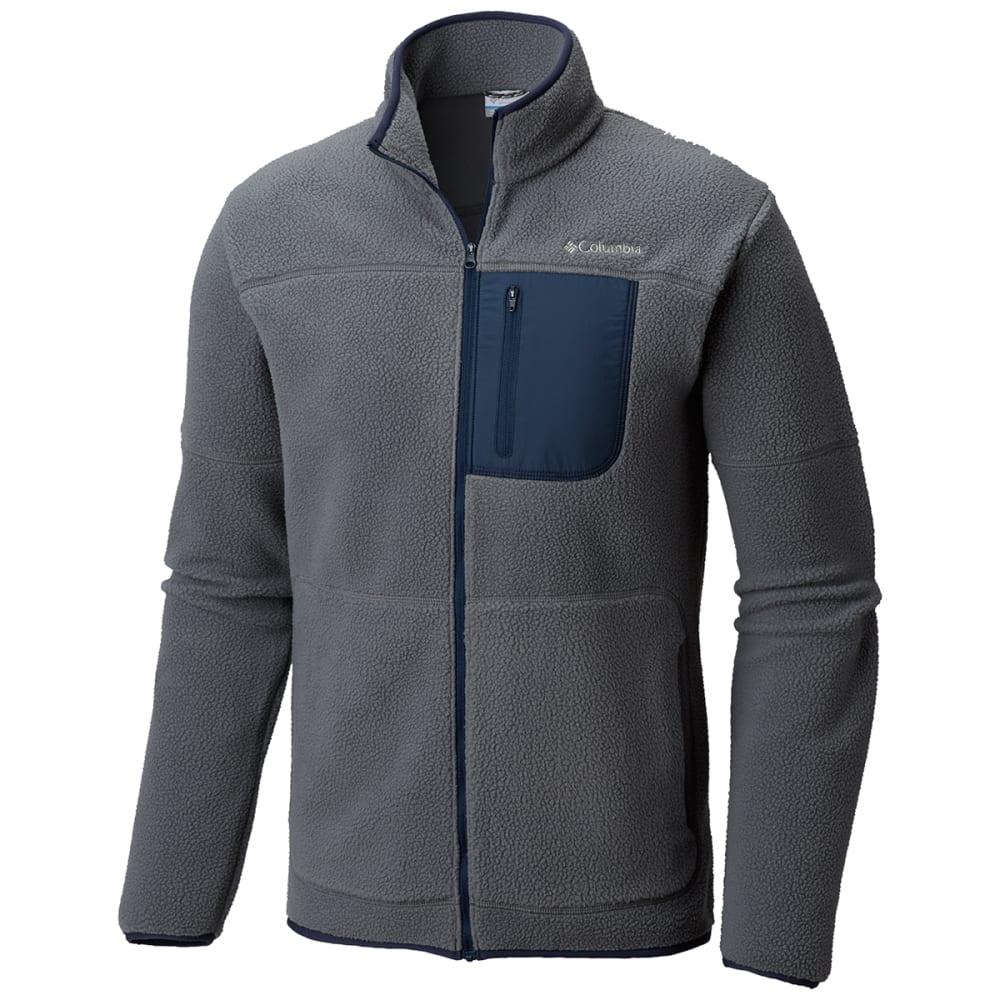 Columbia Men's Rugged Ridge Sherpa Fleece Jacket - Black, S