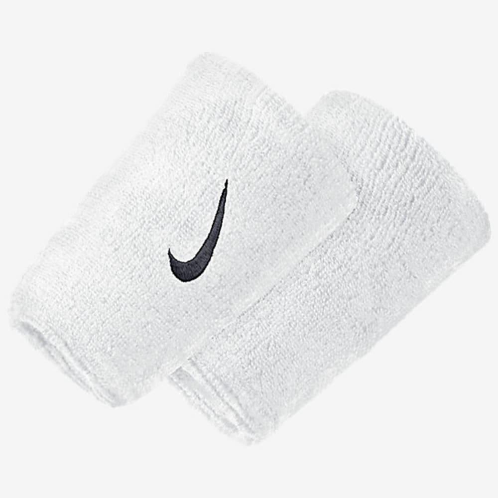 NIKE Swoosh Doublewide Tennis Wristbands ONESIZE