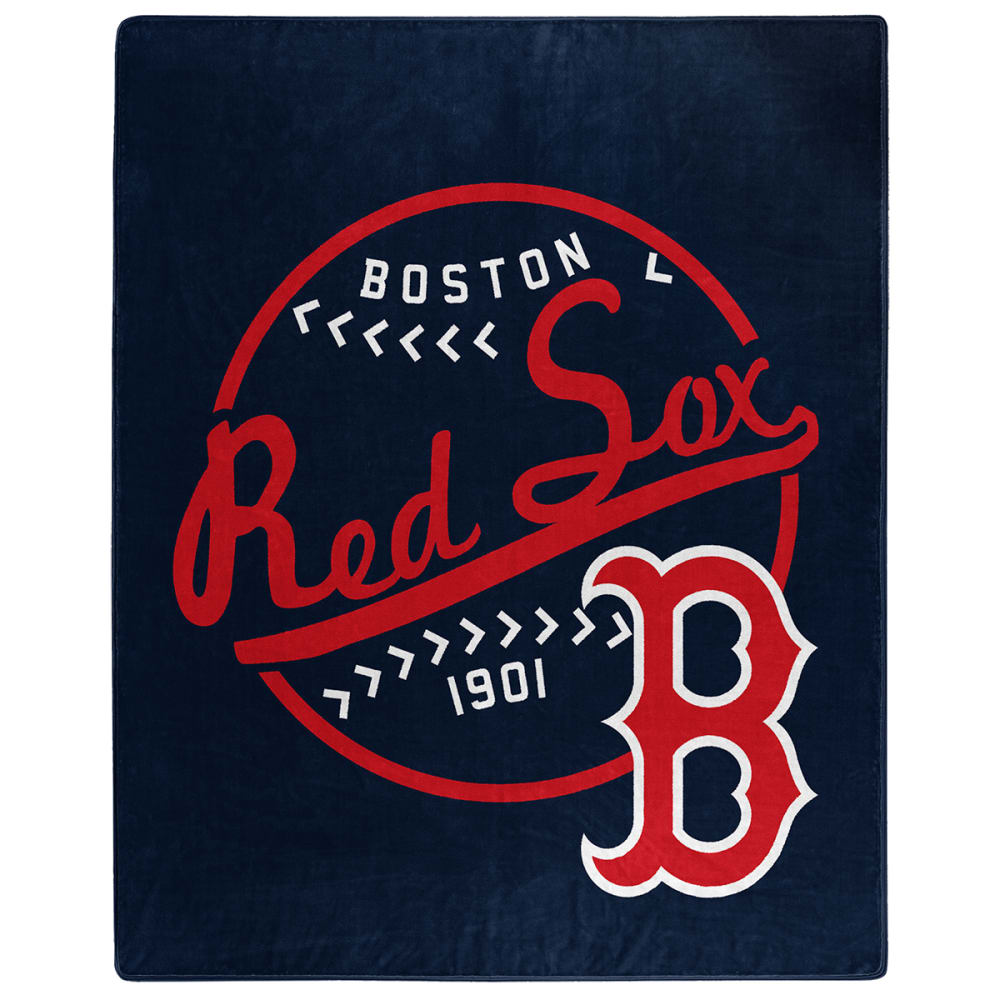 BOSTON RED SOX Moon Shot Raschel 50 x 60 in. Blanket NO SIZE