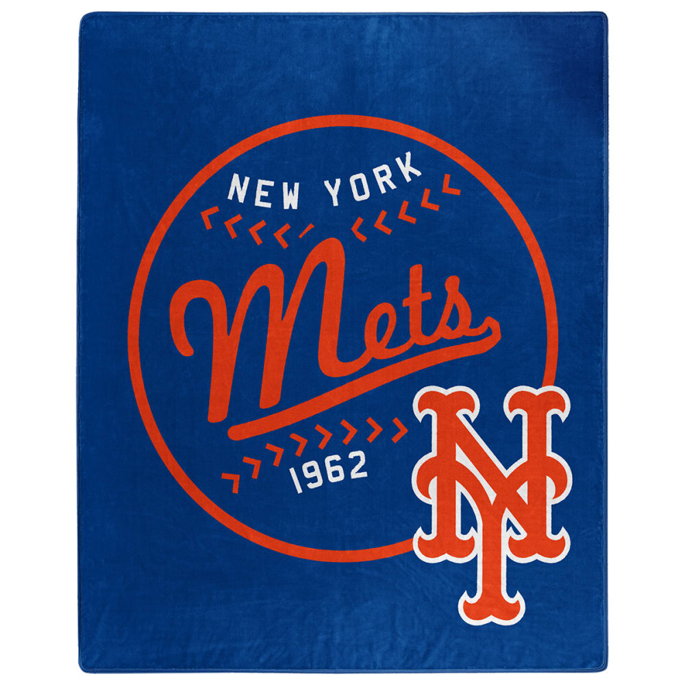 NEW YORK METS Moon Shot Raschel 50 x 60 in. Blanket NO SIZE