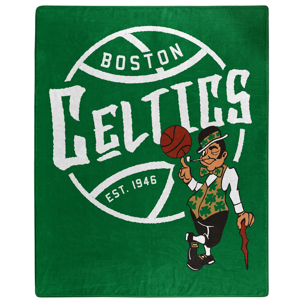 BOSTON CELTICS Blacktop Raschel 50 x 60 in. Blanket NO SIZE
