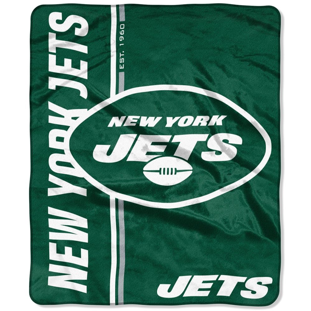 NEW YORK JETS Restructure Raschel 50 x 60 in. Blanket NO SIZE