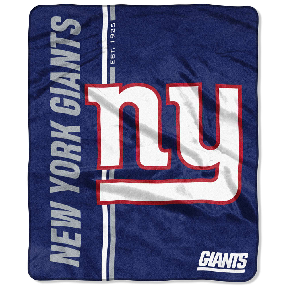 NEW YORK GIANTS Restructure Raschel 50 x 60 in. Blanket NO SIZE