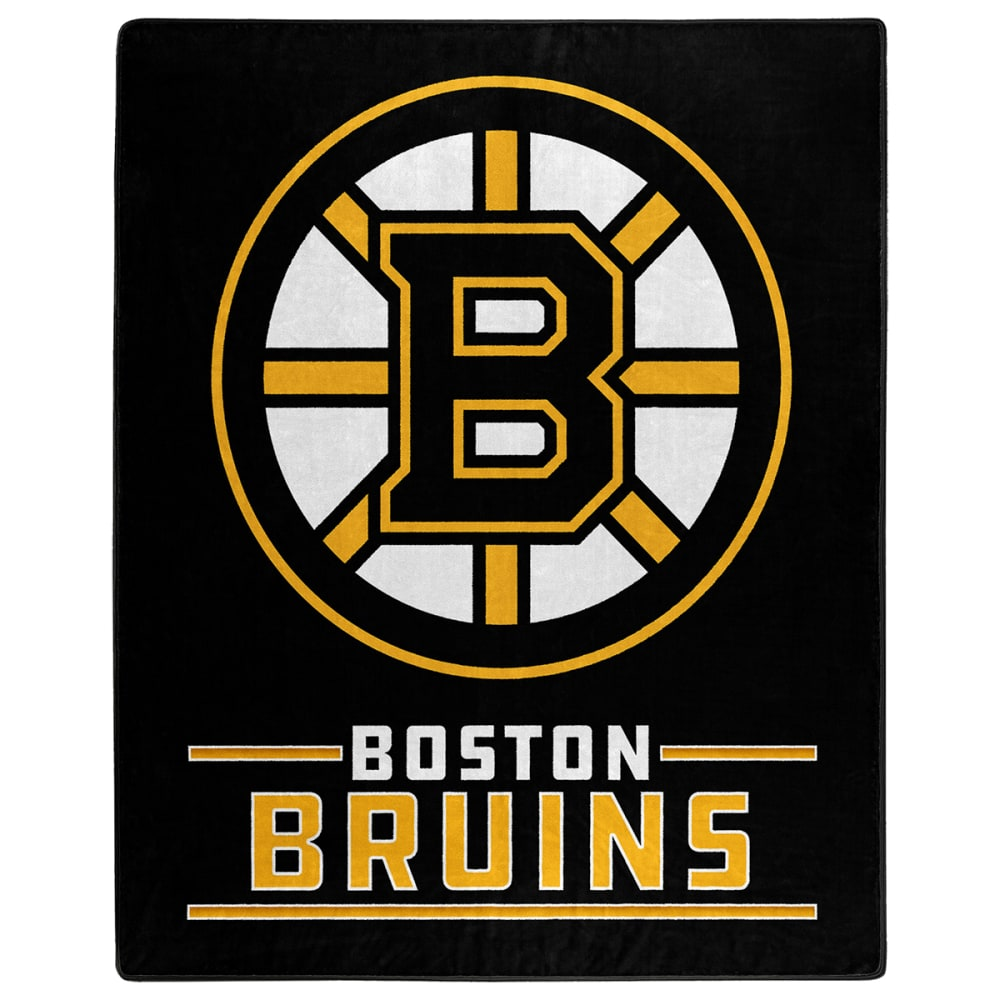 BOSTON BRUINS Interference Raschel 50 x 60 in. Blanket NO SIZE