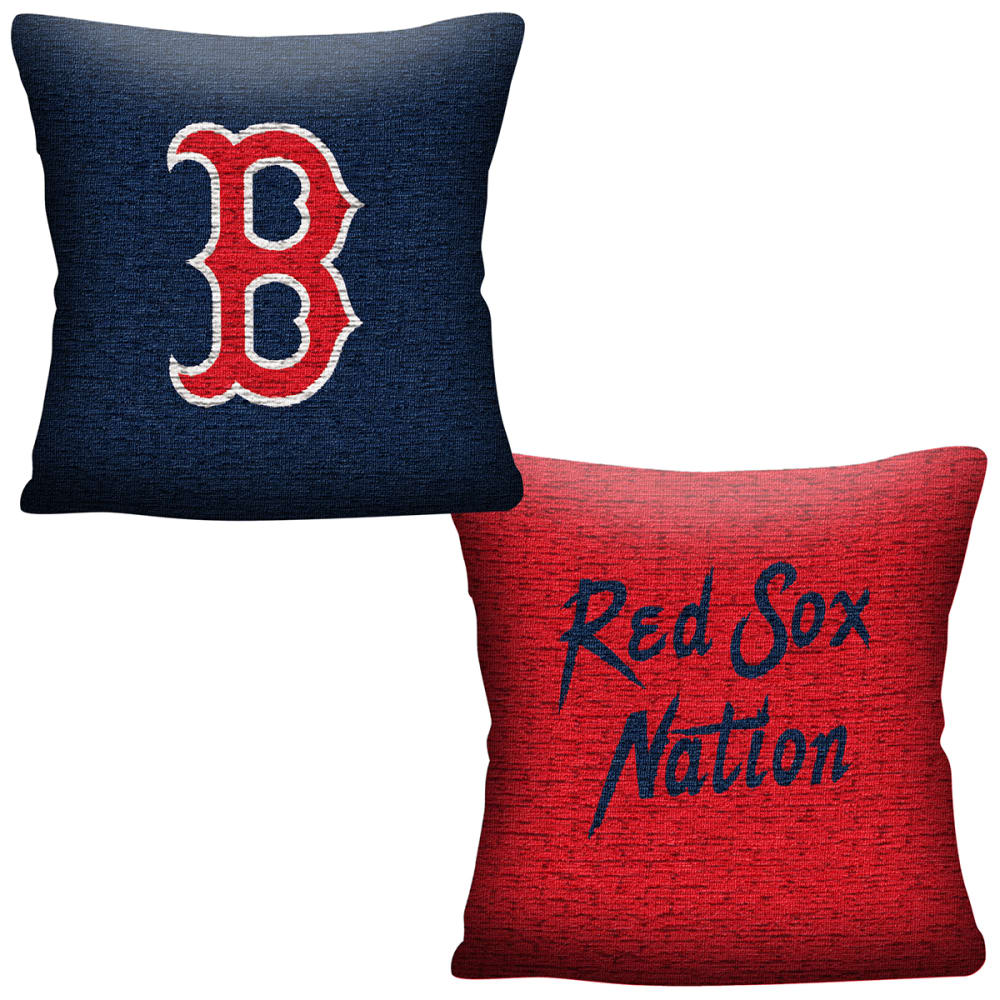 BOSTON RED SOX Double Sided Jacquard Pillow NO SIZE