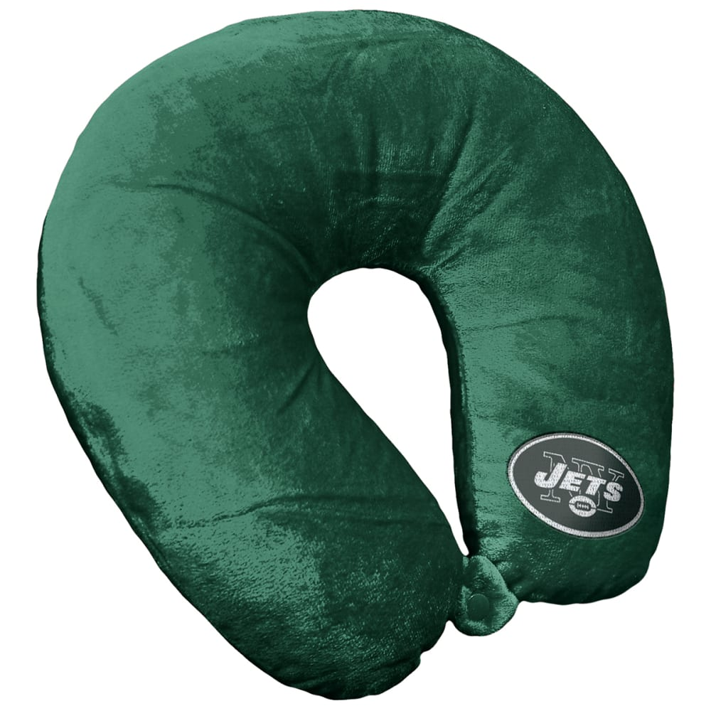 NEW YORK JETS 12 x 13 in. Applique Neck Pillow NO SIZE