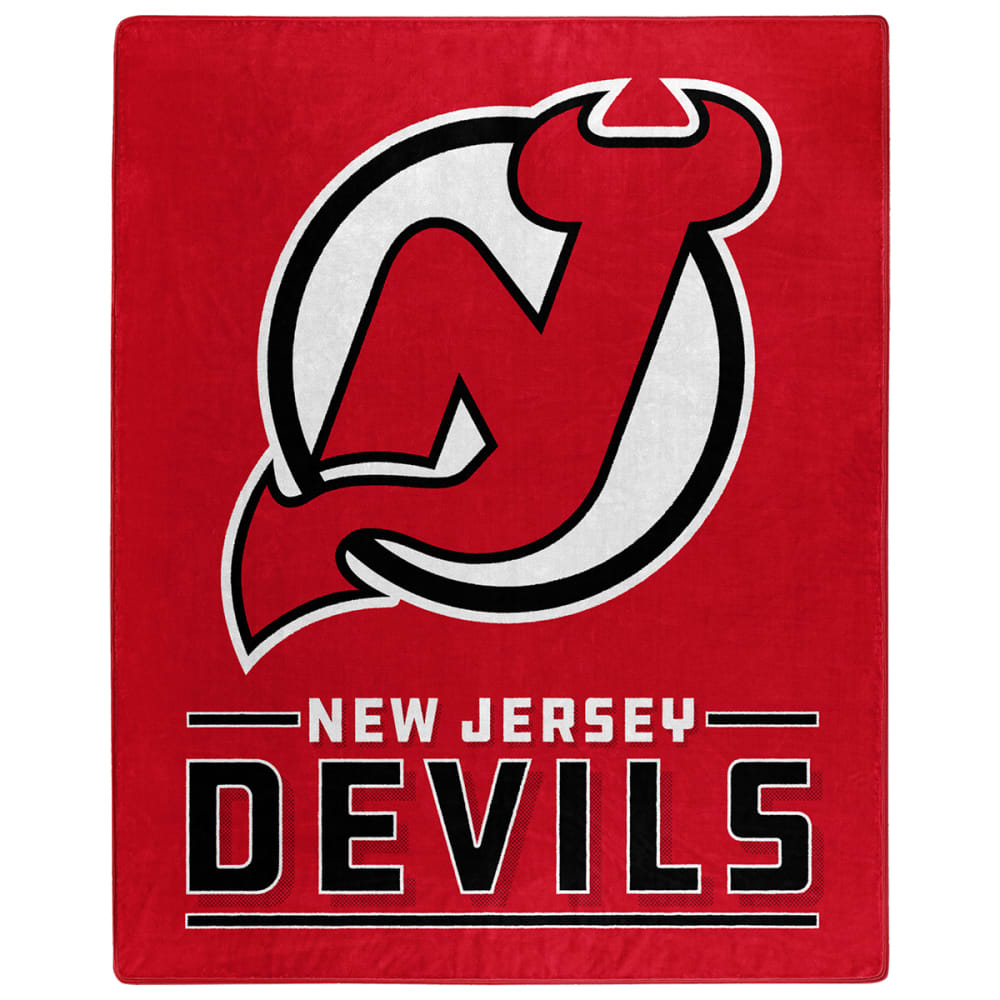 NEW JERSEY DEVILS Interference Raschel 50 x 60 in. Blanket NO SIZE
