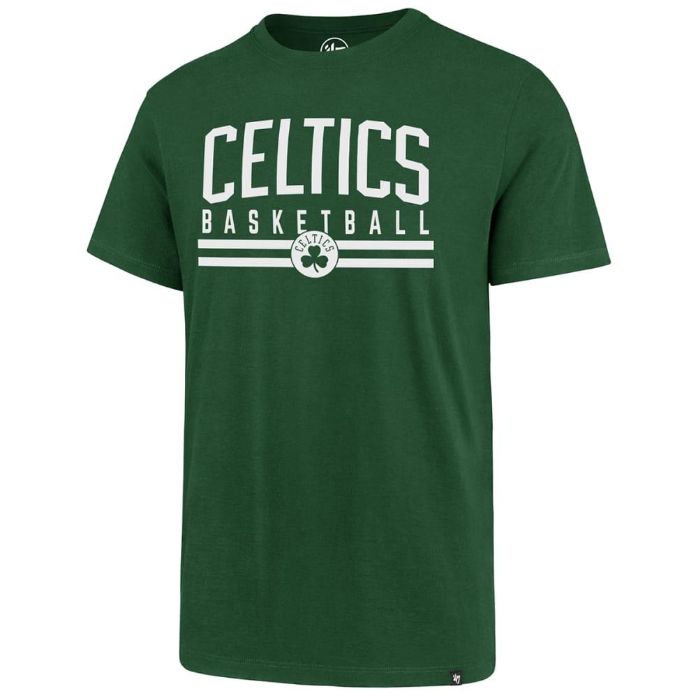 BOSTON CELTICS Men's Short-Sleeve Basketball Splitter Tee M