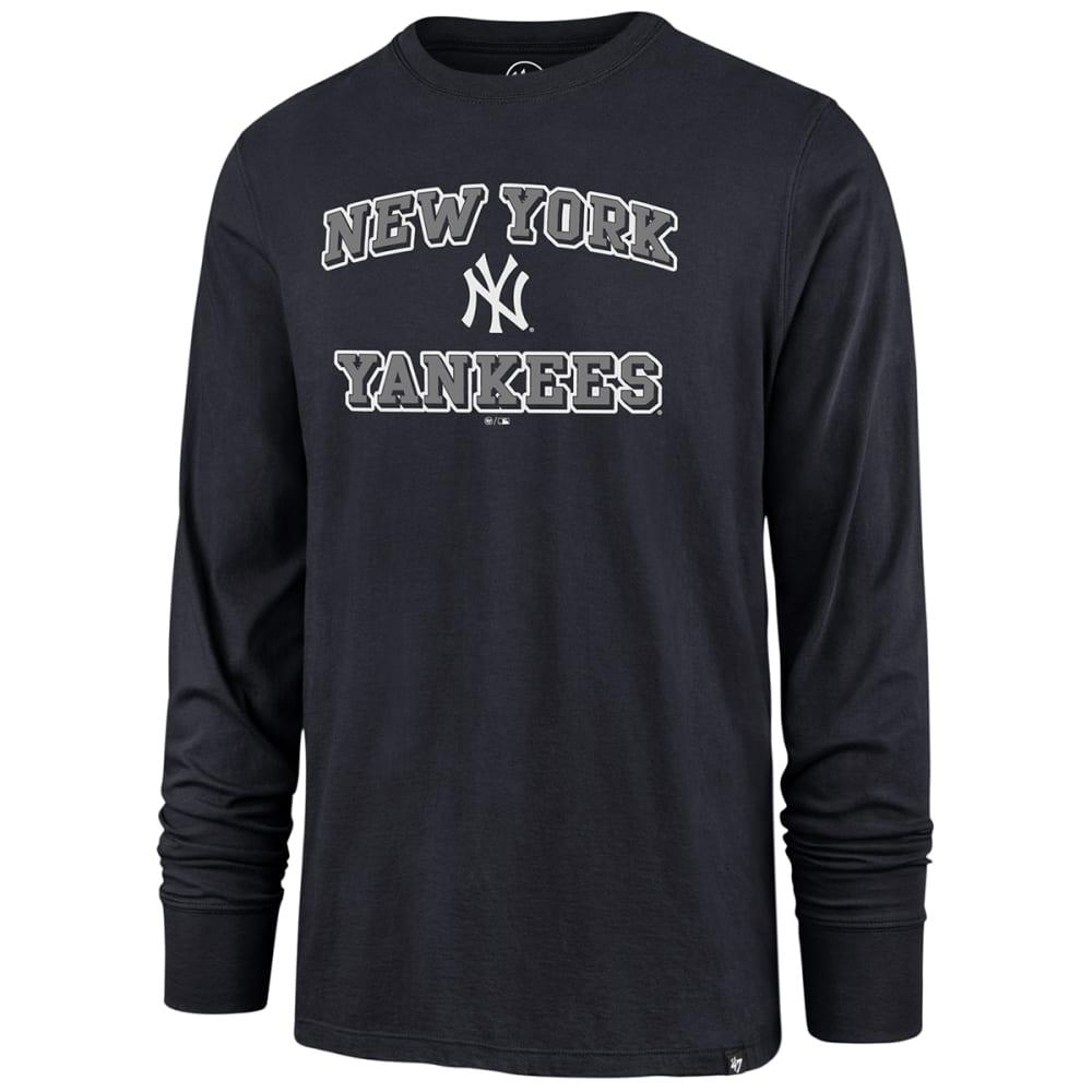 NEW YORK YANKEES Men's Baseball Splitter Long-Sleeve Tee M