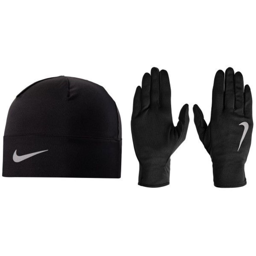 NIKE Women's Dri-Fit Running Hat and Gloves Set XS/S
