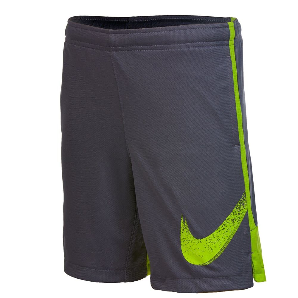 Nike Boys' Dri-Fit Gfx Legacy Short - Black, 4