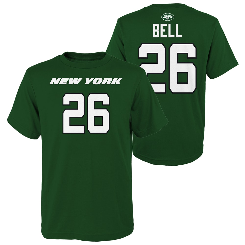 NEW YORK JETS Kids' Le'Veon Bell Name & Number Short-Sleeve Tee S