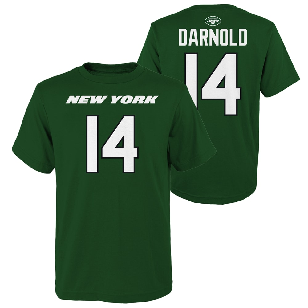 NEW YORK JETS Kids' Darnold Name & Number Short-Sleeve Tee S
