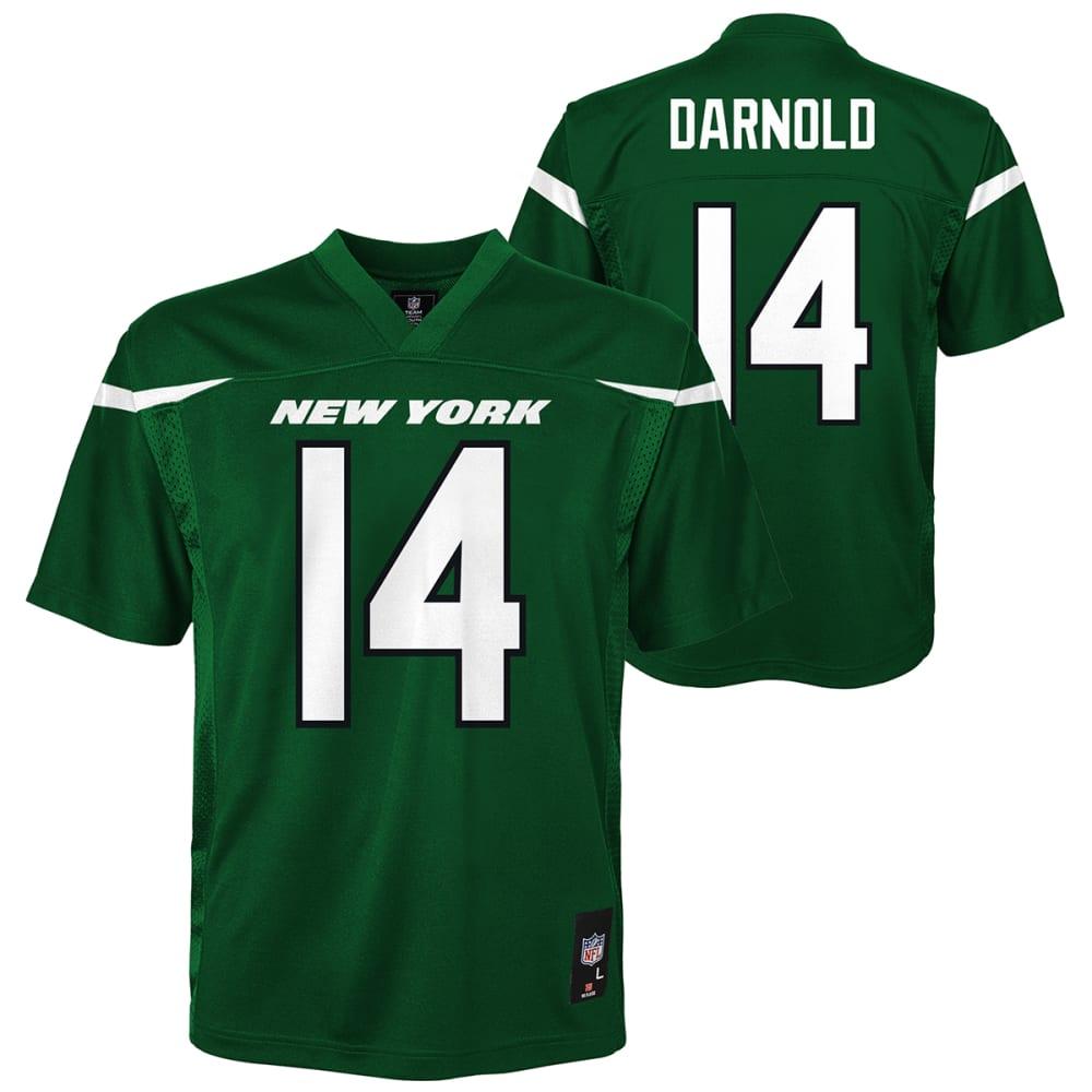 NEW YORK JETS Kids NFL Sam Darnold Jersey S