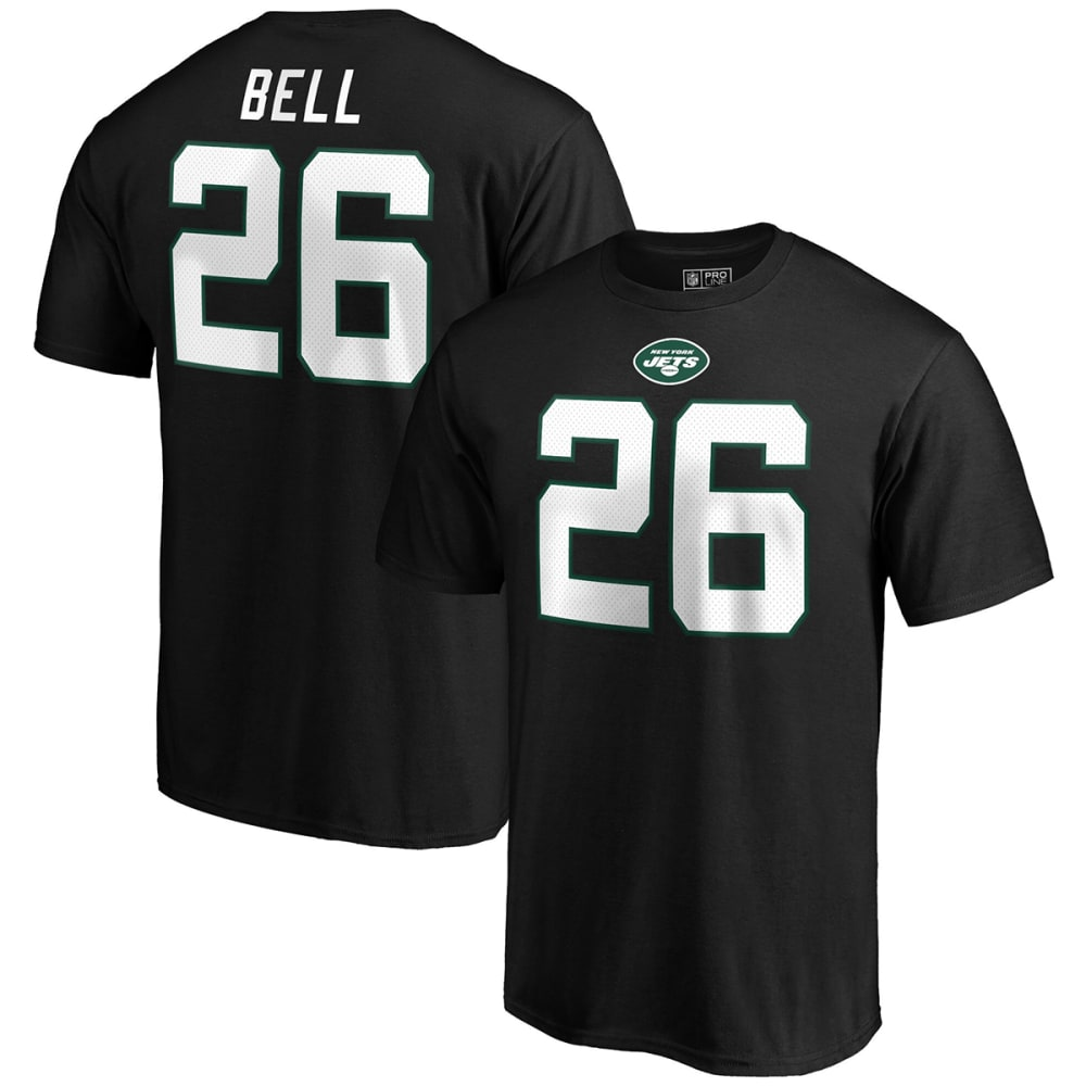 NEW YORK JETS Men's Le'Veon Bell Name & Number Short-Sleeve Tee M