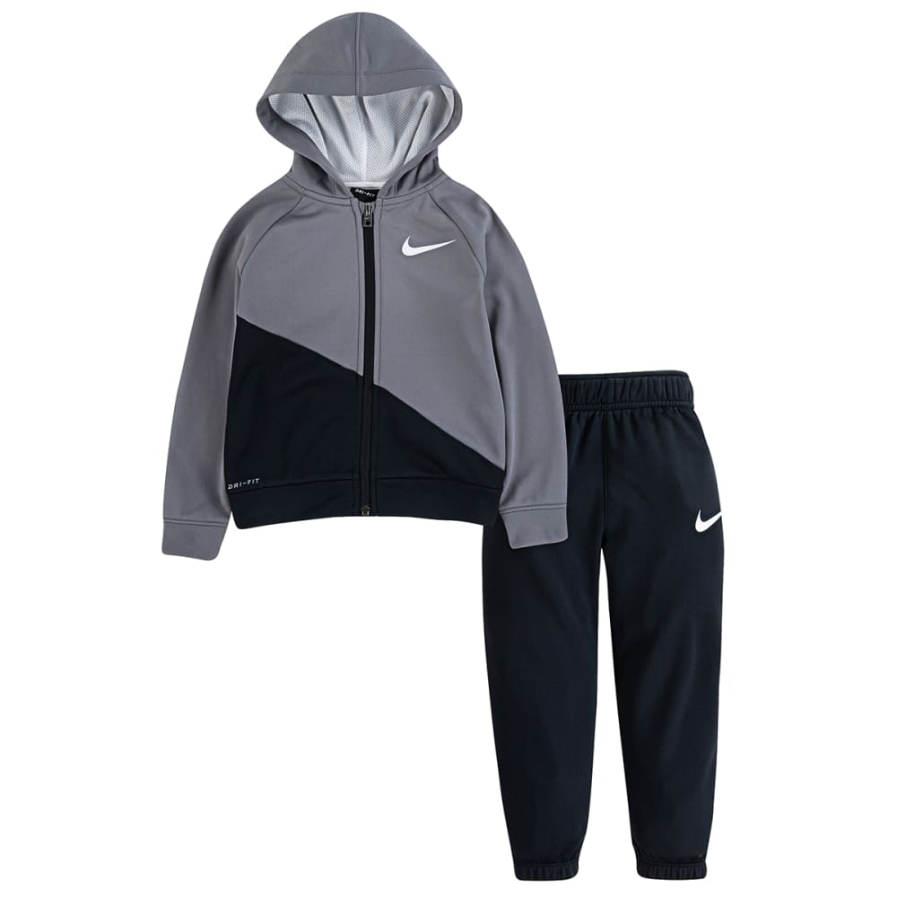 NIKE Boys' 2T-4T Therma Hoodie/Jogger Set, 2 Piece 2T