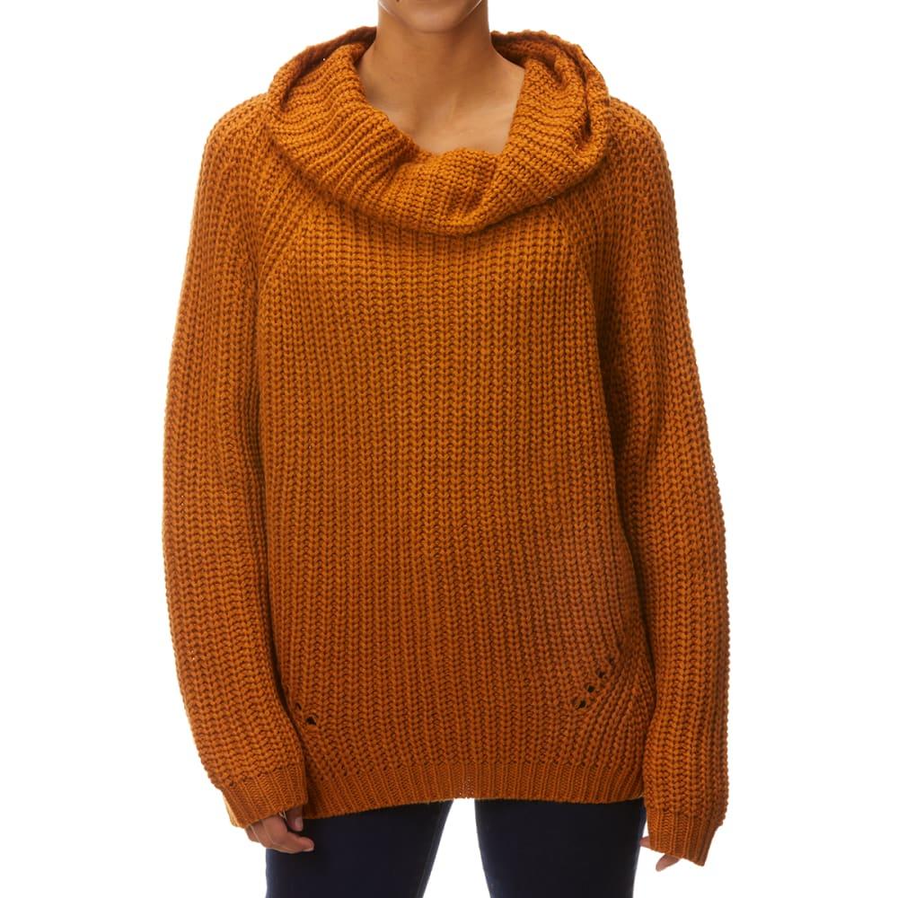 YORK & HUDSON Women's Shaker Cowl Neck Sweater M