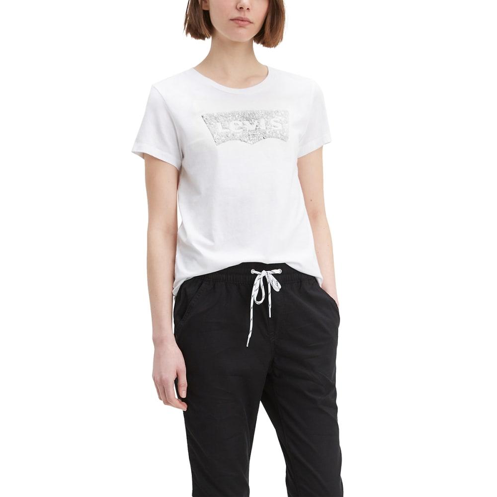 LEVI'S Women's Logo Perfect Short-Sleeve Tee M
