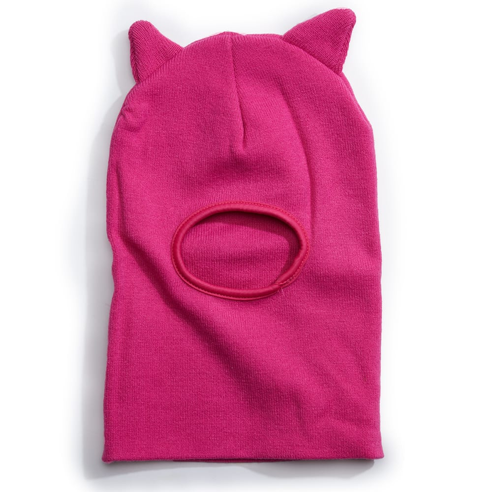 NOLAN Girls' Cat Ear Acrylic Knit Balaclava ONE SIZE