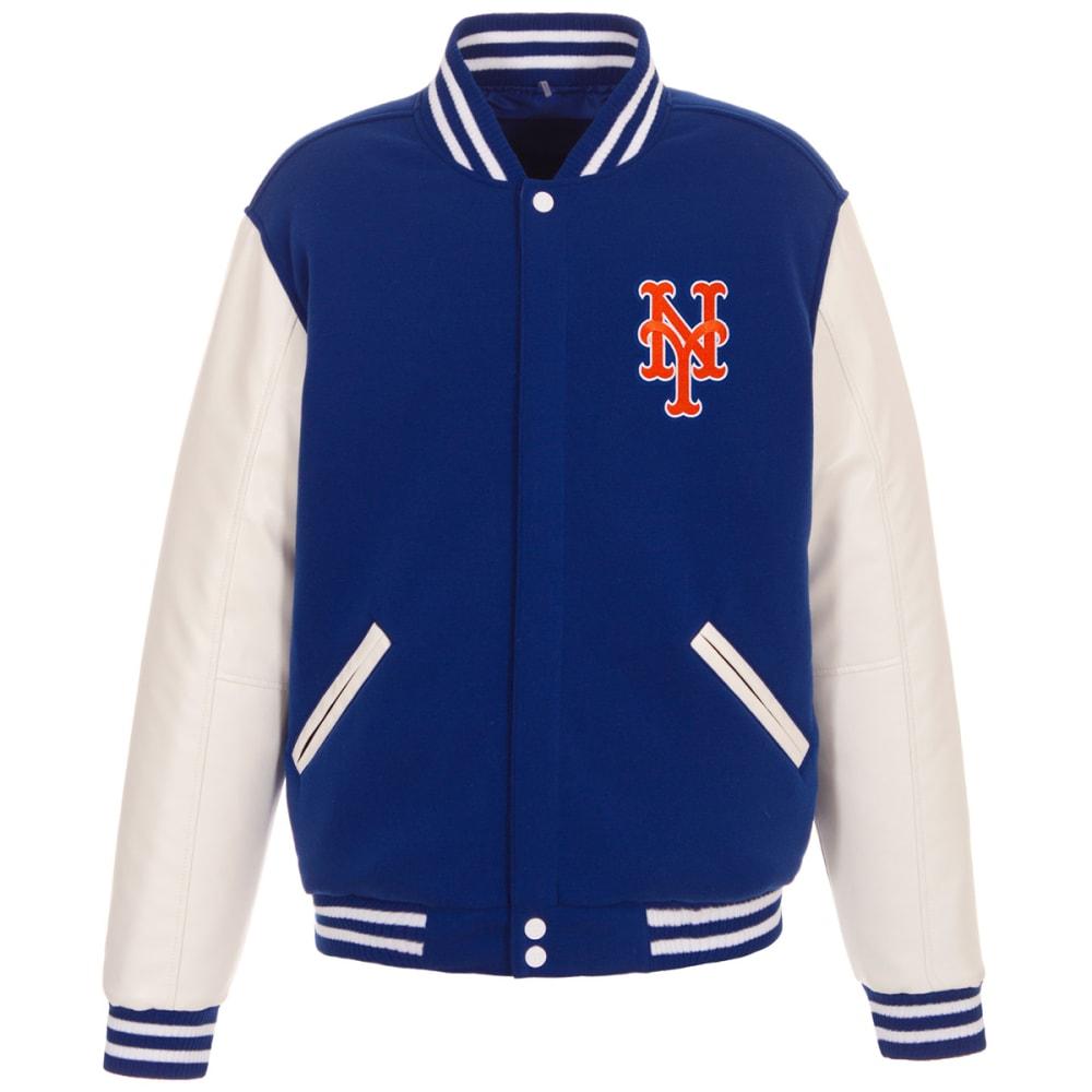 NEW YORK METS Men's Reversible Fleece Jacket M