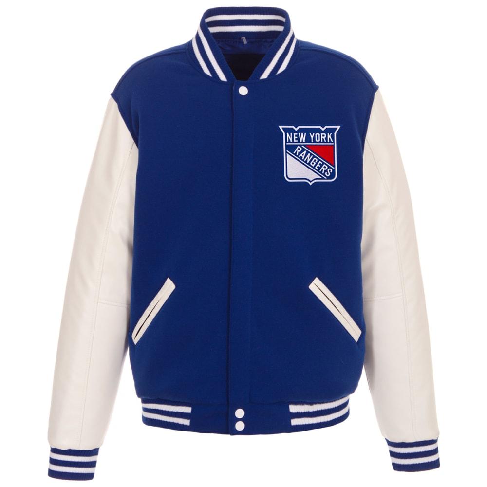 NEW YORK RANGERS Men's Reversible Fleece Jacket M