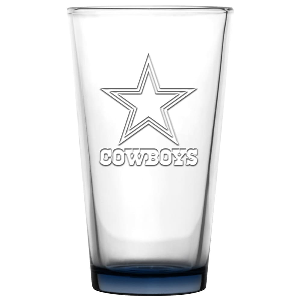 Dallas Cowboys 16 Oz. Pint Glass