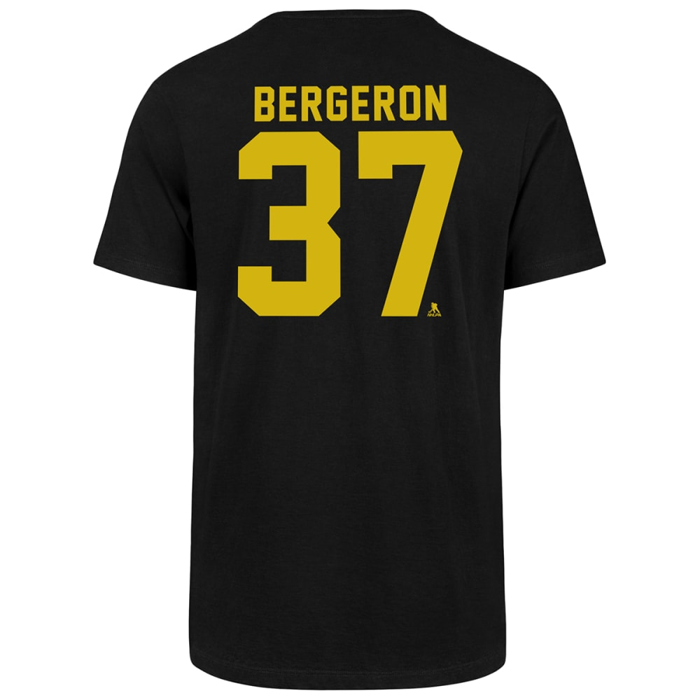 Boston Bruins Men's '47 Bergeron Super-Rival Short-Sleeve Tee - Black, M